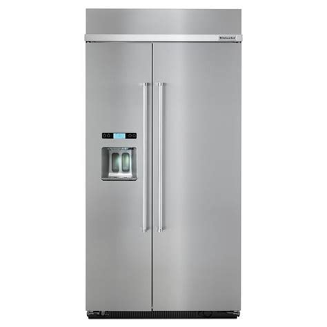 Kitchenaid Fridge Cold Kitchenaid Energy 174 25 0 Cu Ft 42 Inch Width Built