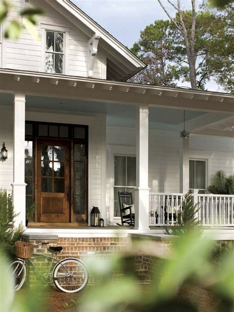 front porch brick stairs railing door home sweet home pinterest