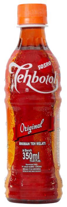 Eceran Teh Botol Sosro 450ml tehbotol sosro on quot tehbotol sosro botol plastik