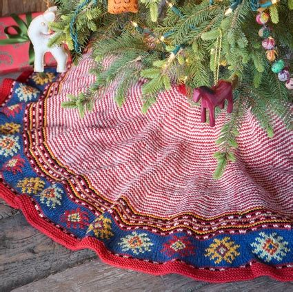 knit tree skirt crochet pinterest