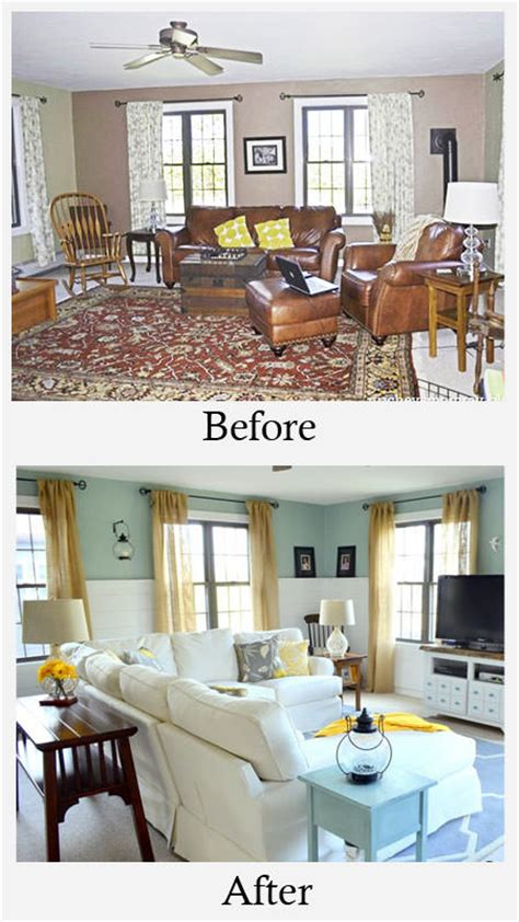 before and after living room makeovers small living room makeovers decorating your small space