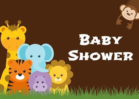 imagenes de animales bebes para baby shower baby shower tema selva imagui