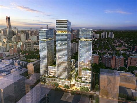residential towers getting the backyard in the city part arquitectonica leads design team for three toronto towers