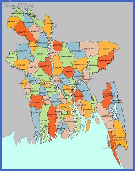 map of bangladesh bangladesh map toursmaps