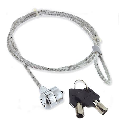 Cliptec Key Lock Cable Notebook Security Rzl525 notebook lock with key נט ביט
