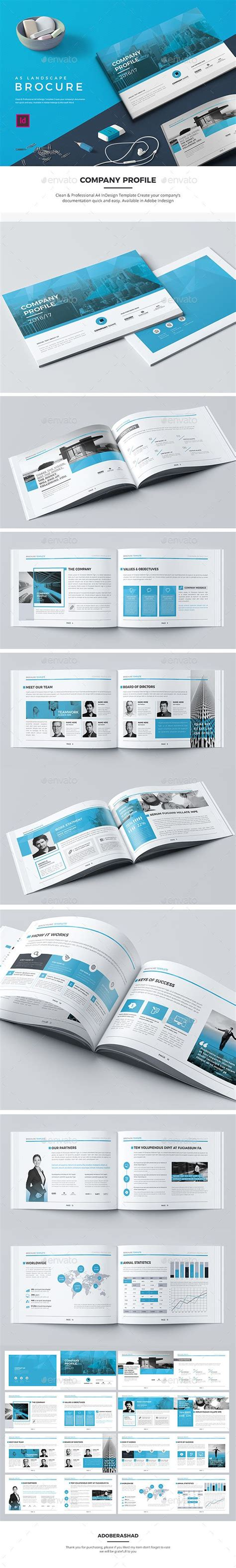 change layout to landscape in indesign a5 landscape company profile indesign indd corporate