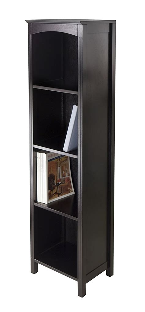 Narrow Leaning Bookcase Top 15 Narrow Bookshelf And Bookcase Collection