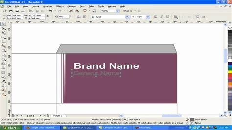 how to design a photo how to design make medicine box in coreldraw mp4