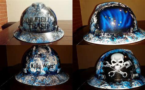 trash boat hat zimmer designz custom paint lots of new cool hard hat designs