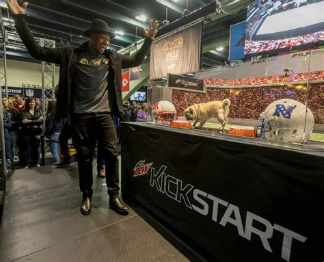 kickstart commercial puppy monkey baby mtn dew 174 kickstart hosts nfl experience event puppy monkey and baby predict the