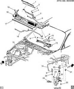 2002 Pontiac Bonneville Parts 2002 Pontiac Bonneville Wiper System Windshield