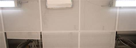 controsoffitti in metallo controsoffitti in pannelli o doghe di metallo tecoint srl