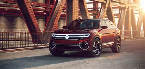 vw atlas cross sport concept   sleek hybrid suv  seating   autoguidecom news