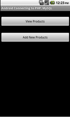 membuat aplikasi android dan mysql langkah qi aplikasi android dengan eclips dan mysql