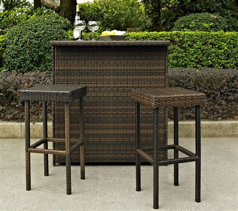Outdoor Bars Furniture For Patios Outdoor Wicker Bar Garden Of Wicker