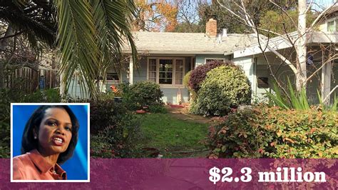 house of rice former secretary of state condoleezza rice sells bay area home for 2 3 million la times