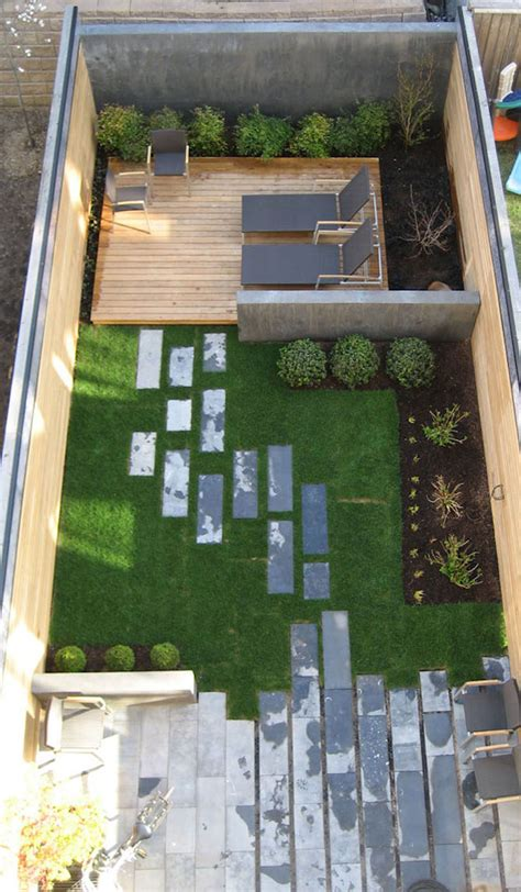 small space garden design ideas 16 inspirational backyard landscape designs as seen from above contemporist