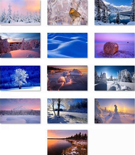 Microsoft Themes Winter | download winter windows 7 theme pack most i want
