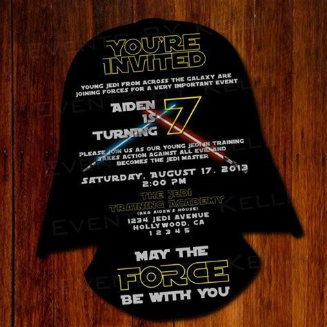 wars birthday invitation templates free wars silhouette birthday invitation diy by