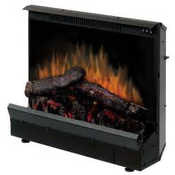 dimplex 23 quot deluxe electric fireplace insert and led log