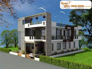 House Car Parking Design Apnaghar House Design Complete Architectural Solution
