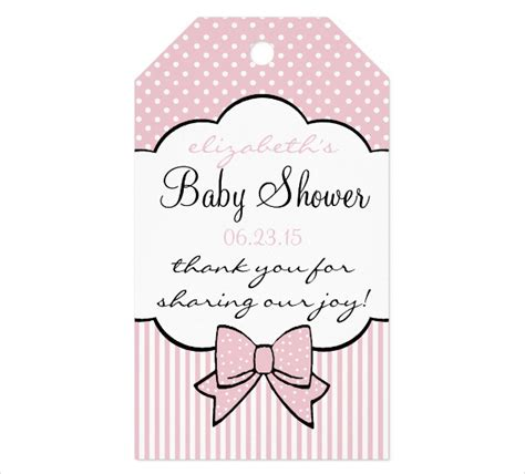 thank you tag templates for baby shower 9 thank you gift tags psd vector eps jpg download