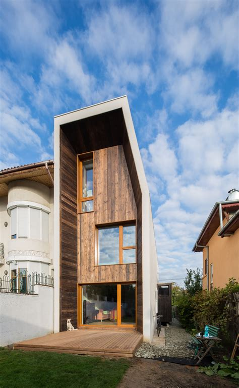 home architecture lama house has a and narrow shape