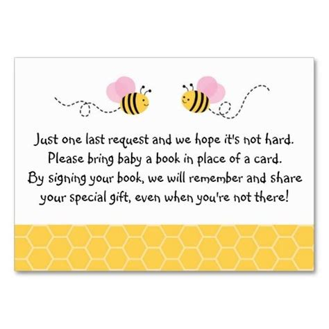 bee business card template 78 best ideas about baby shower templates on