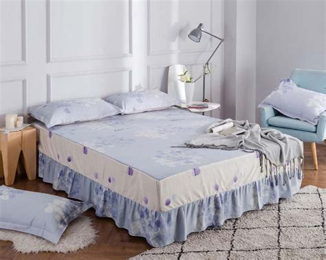 cotton 1pcs bed skirt with elastic bandage size bed cover bed skirt bedspread