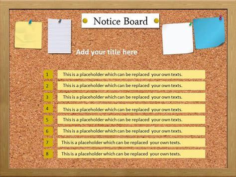 notice board design powerpoint notice board template powerpoint www pixshark com