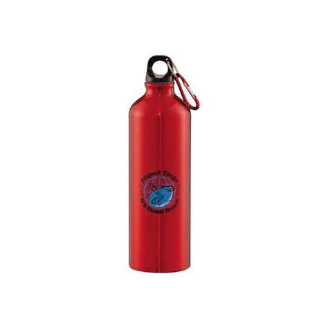 free aluminum water bottle aluminum water bottle with carabiner promo water bottle