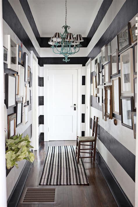 decorate  narrow hallway popsugar home