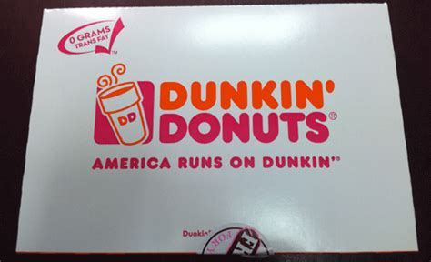 Box Of 10 Dunkin Donuts Dunkin Donuts Box Cake Ideas And Designs