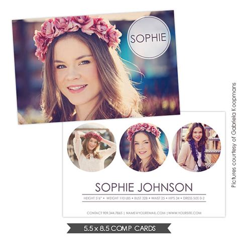 free downloadable comp card templates instant modeling comp card photoshop templates