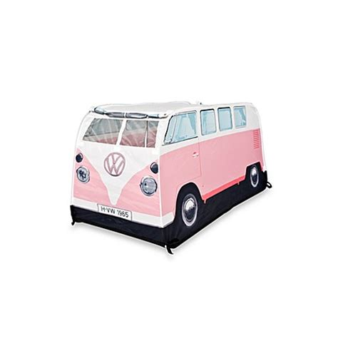 pink volkswagen van vw cer van play tent in pink bed bath beyond