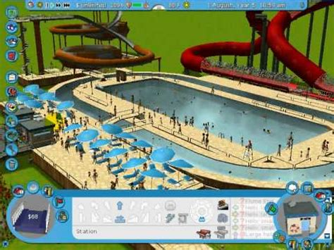 how to make a lazy river in your backyard rct3 tutorial lazy river youtube