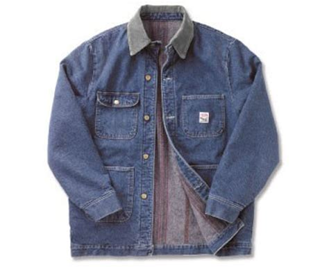 Jaket Jahil denim work coat coat nj