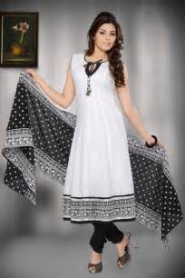 Beautiful black and white kameez designs worlds style
