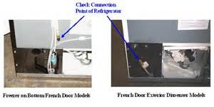 French Door Refrigerator Leaking Water - french door refrigerator french door refrigerator leaking water