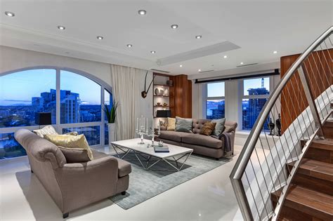 luxury penthouse the luxury penthouse elysium in grace tower vancouver canada