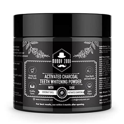 amazon charcoal teeth whitening powder