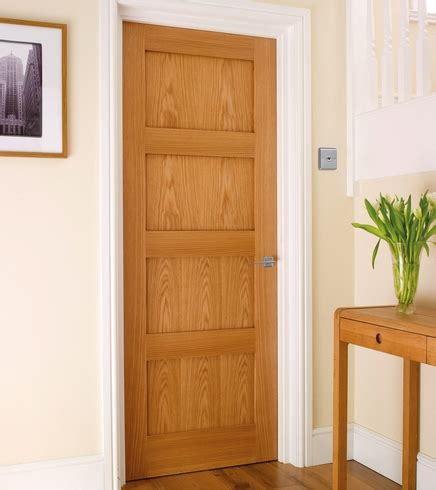 4 panel oak shaker door howdens joinery