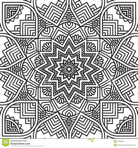 mandala coloring pages vector mandala coloring page stock vector image 62432584