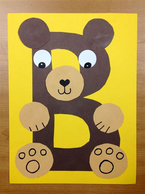 1000 Ideas About Preschool Crafts On Crafts - letter b crafts formal letter template