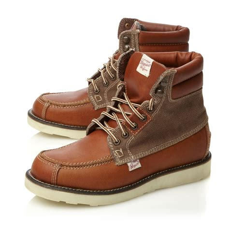 Original Buccheri Casual Shoes original penguin klondyke 2 casual boots in brown for lyst