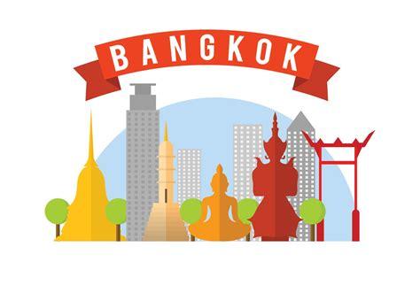thailand map vector free free bangkok vector illustration free vector