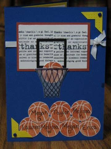 team thank you card for basketball coach instant by khudd on etsy