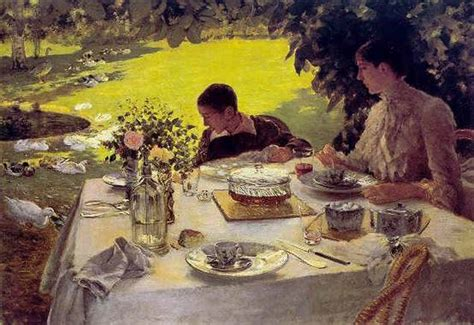 colazione in giardino de nittis giuseppe les carnets de marion