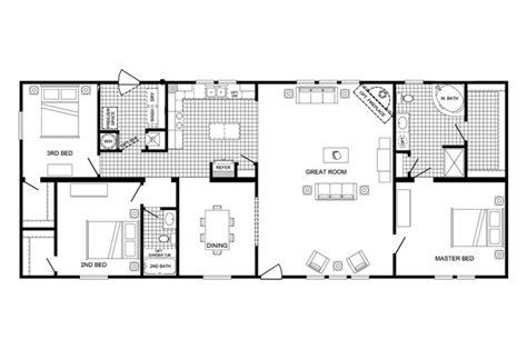 cavalier mobile home floor plans home plan
