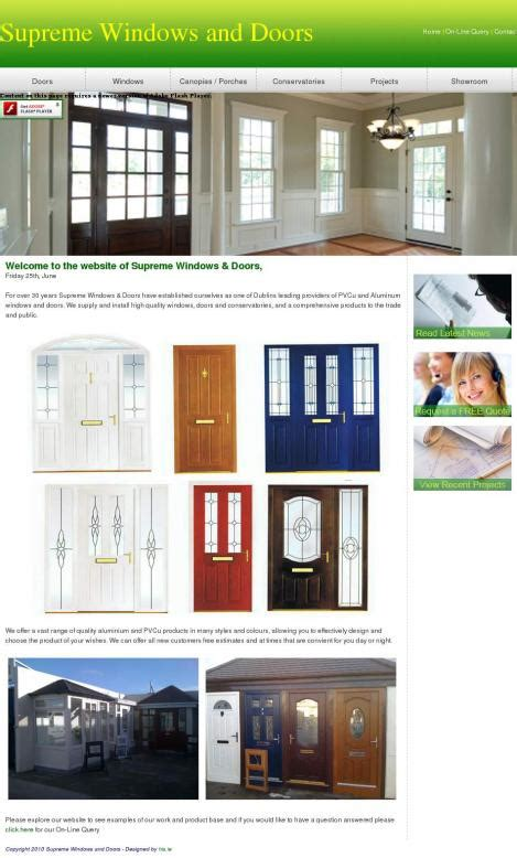 supreme windows supreme windows and doors supremewindowsanddoors ie
